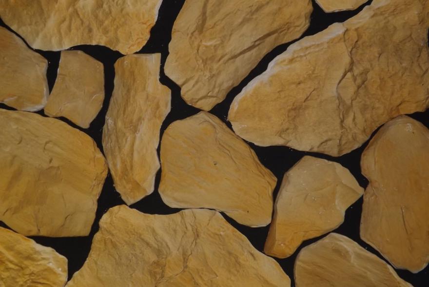Искусственный камень из гипса - Дикий камень