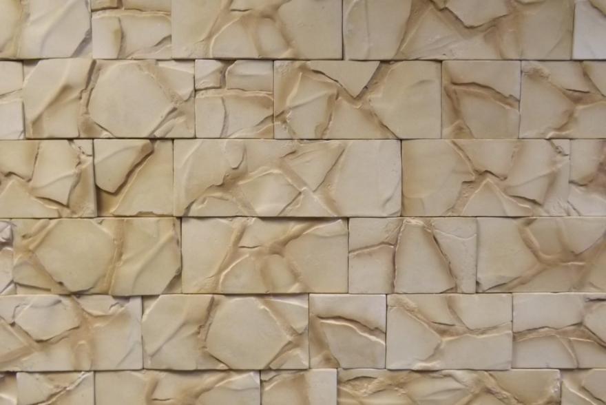 Искусственный камень из гипса - Мрамор природный