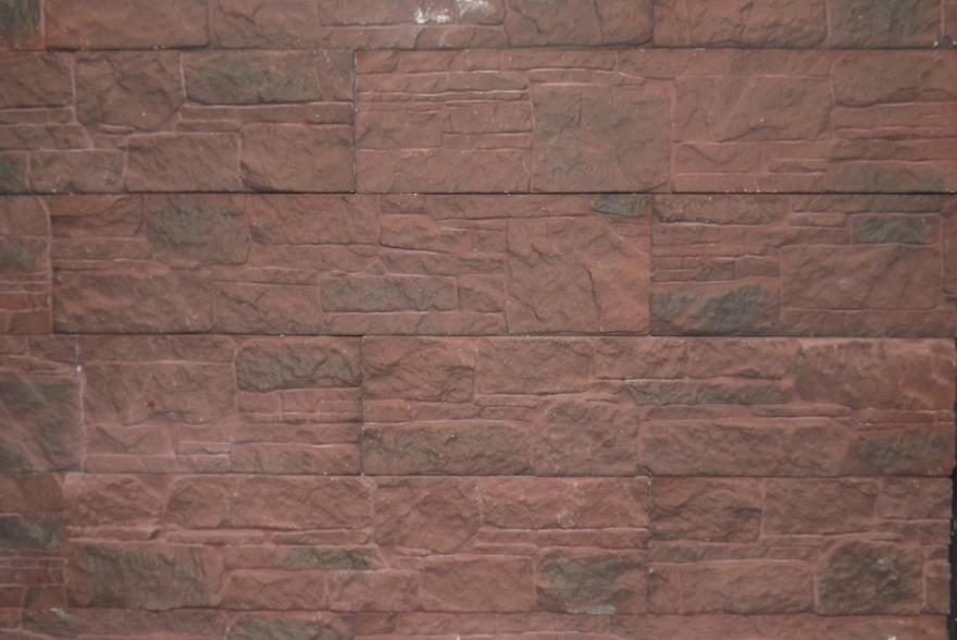 Искусственный камень из гипса - Сланец Апачи 1