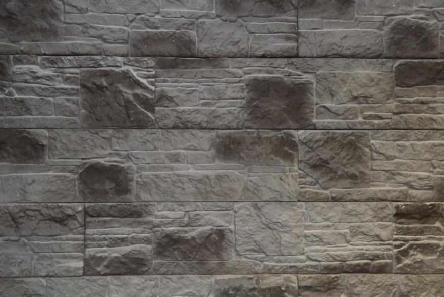 Искусственный камень из гипса - Сланец Аппачи 3
