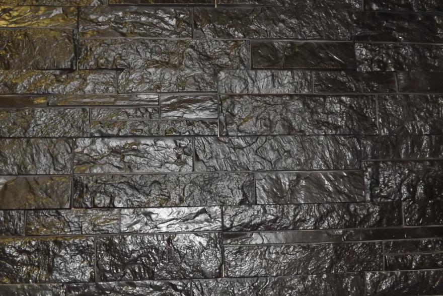 Искусственный камень из гипса - Сланец Карпатский 1