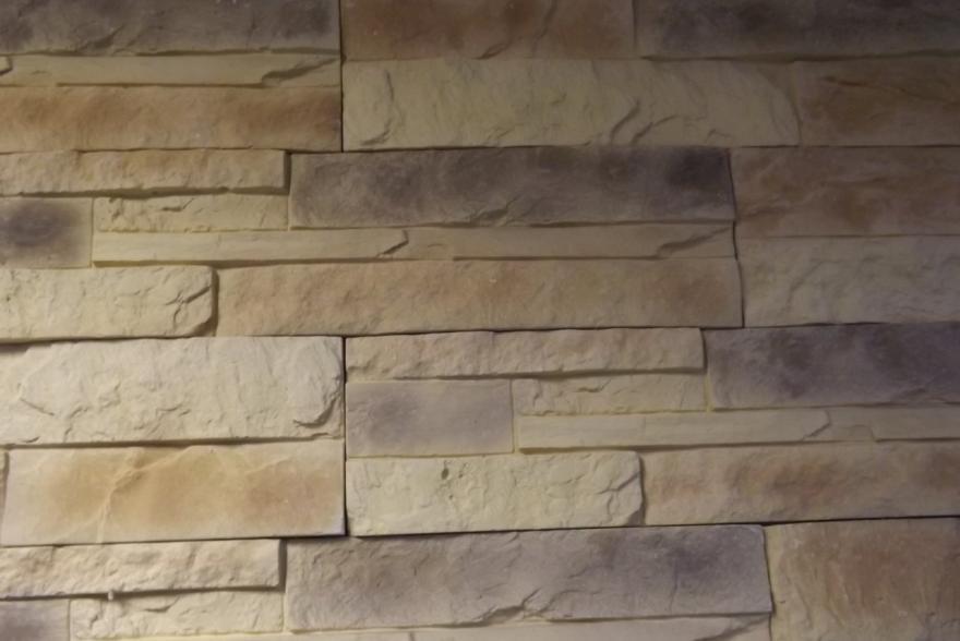 Искусственный камень из гипса - Сланец Карпатский 2