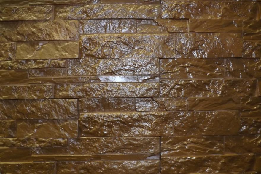 Искусственный камень из гипса - Сланец Корпатский 3