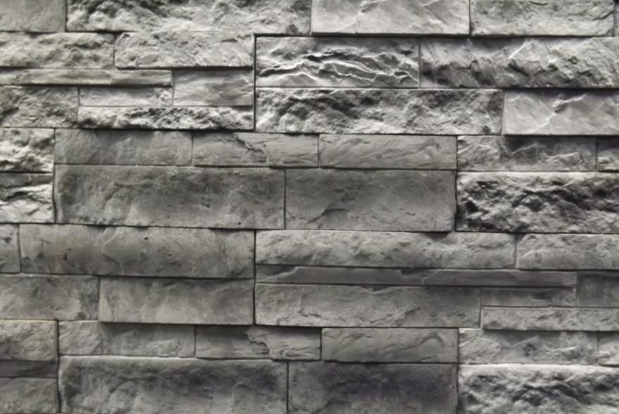 Искусственный камень из гипса - Сланец Корпатский 4