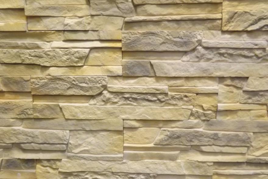 Искусственный камень из гипса - Сланец Рифейский 1