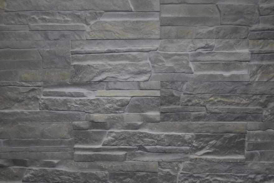 Искусственный камень из гипса - Сланец Рифейский 2