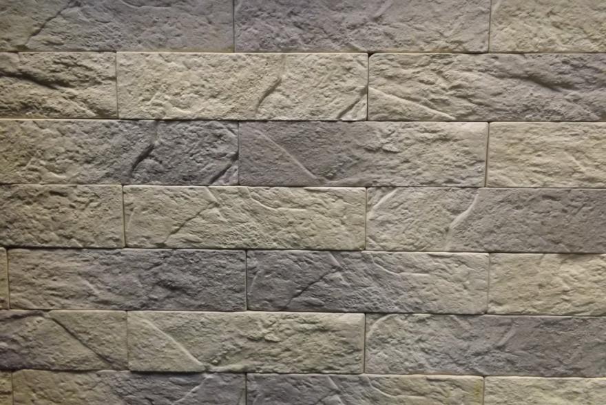 Искусственный камень из гипса - Старый Кирпич 2