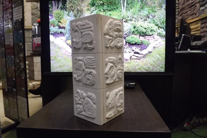 Искусственный камень из гипса - Угол мая наружный - 1