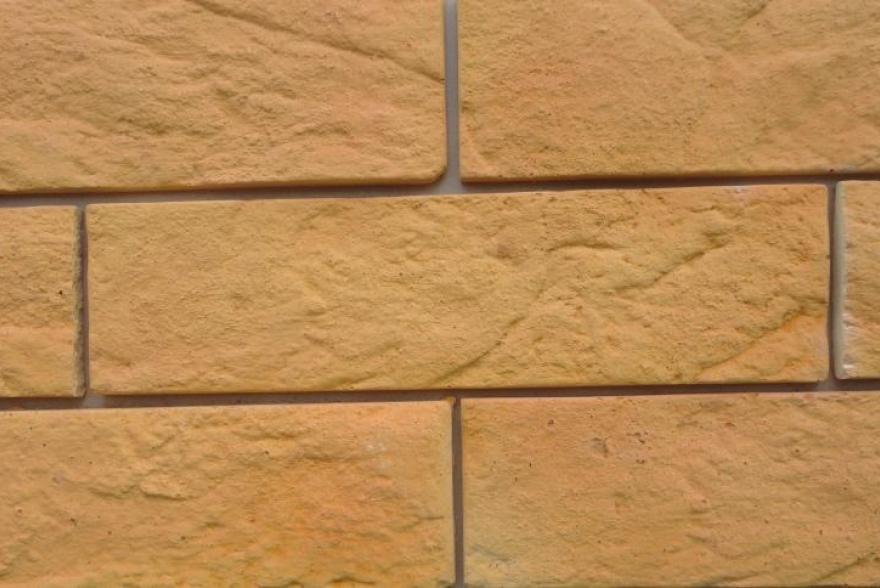 Искусственный камень из полимербетона - Старый кирпич